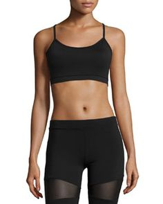 Shop Printed Sports Bra, Wild Aster/Eclipse Crackle from Yummie Tummie at Neiman Marcus Last Call, where you'll save as much as on designer fashions. Racerback Sports Bra, Sportswear, Active Wear, Gym Shorts Womens, Clothes, Neiman Marcus, Aster, Body Language, Kleding