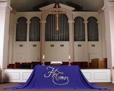 He Comes! Advent altar cloth