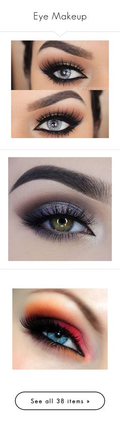 """Eye Makeup"" by lotusflower18 ❤ liked on Polyvore featuring beauty products, makeup, eye makeup, eyeliner, eyes, beauty, eyeshadow, olhos, lip makeup and lipstick"