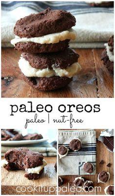 Paleo Oreos made with @ottosnaturals Cassava Flour | Cook It Up Paleo