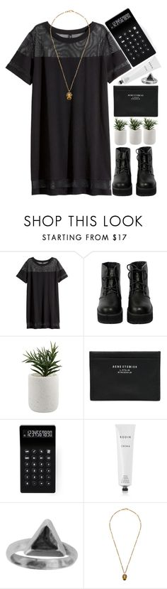 """1260"" by melanie-avni ❤ liked on Polyvore featuring H&M, The WhitePepper, Acne Studios, LEXON, Rodin, Zoemou and Gucci"