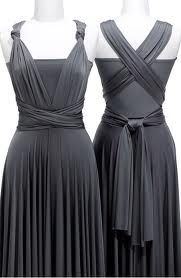 Pewter Bridesmaids Dresses