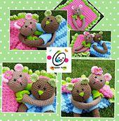 Ravelry: Lovey Bears pattern by Heidi Yates. $4.99 for pattern. 5/14.