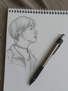 Hoseok bts in 2019 dibujos a lápiz, d Kpop Drawings, Art Drawings Sketches Simple, Pencil Art Drawings, Drawing Art, Art Du Croquis, Fanart Bts, Drawing Reference, Bts Wallpaper, Art Inspo