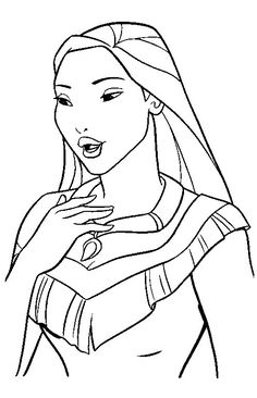 Disney Coloring Pages - Aerial | Disney Coloring Pages | Pinterest ...