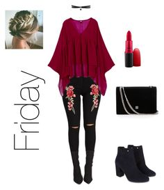 """""""Friday"""" by danicarae on Polyvore featuring Monsoon, Fallon and MAC Cosmetics Monsoon, Mac Cosmetics, Friday, Clothing, Polyvore, Stuff To Buy, Shopping, Collection, Design"""