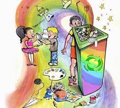 Eco friendly home : Σκουπίδια και ανακύκλωση (tips) by Despinas Studio