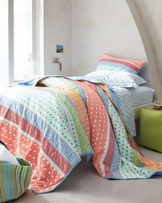 Cape House Quilt and Sham