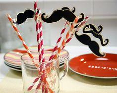 Everyone needs a mustache straw!