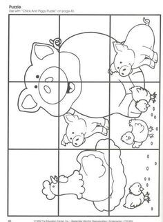 Simple shapes coloring pages stencils and fonts for Humpty dumpty puzzle template