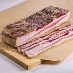 After you've tried this curing technique for homemade bacon you will never want the store bought stuff again. You've been warned. Home Made Bacon, Curing Bacon, Cuisines Diy, Bacon Sausage, Best Bacon, Smoking Recipes, Charcuterie, Smoked Bacon, Pork Dishes