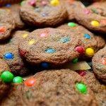 Browned Butter M&M Cookies - Pioneer Woman