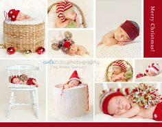newborn christmas picture ideas for my friend ;) psst.... Here's your sign!! You know  I'm talking to you!!