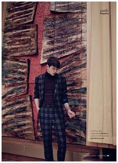 Tomek Szczukiecki & David Metcalfe are Stylish Studio Hands for Esquire España February 2015 Fashion Editorial