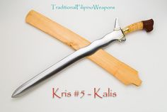 Filipino Kris Sword #5 - Kalis