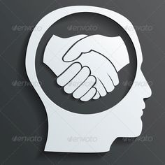 Handshake in the Head Vector
