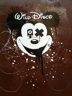 urbanartefakte:    stencils:    Wild Disco (by URBAN ARTefakte)