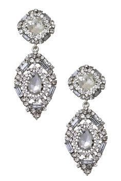 Glitzy Art Deco Earrings