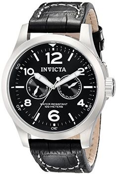 Invicta II Men's 0764 Stainless Steel Watch with Black Leather Band Invicta http://www.amazon.com/dp/B004GVRRMI/ref=cm_sw_r_pi_dp_eV8iwb136CDT1