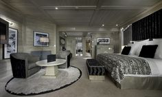 Spacious living in the Hotel Le K2, Courchevel 1850