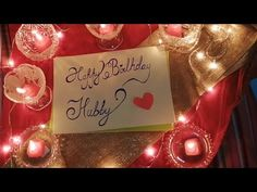 Best romantic birthday wish to husband | birthday wish to husband - YouTube Romantic Birthday Wishes, Birthday Wish For Husband, Bday Gifts For Him, Youtube, Ideas, Thoughts, Youtubers, Youtube Movies