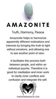 Amazonite (Truth, Harmony, Peace)