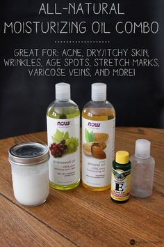 All-Natural Moisturizing Oil Combo