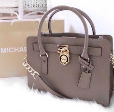 MICHAEL Michael Kors Grayson Medium Paint Leather Satchels Black Model: MK Satchels - 045 £38.20