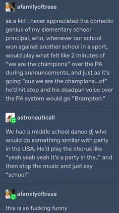 PARTY ROCKERS IN THE ...school TONIGHT Stupid Funny, Funny Stuff, Random Stuff, Funny Things, Haha, Funny Quotes, Funny Memes, Funny Tumblr Posts, Amazing