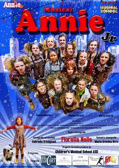 ANNIE JR. - 28 giovanissimi performer porteranno in scena il pluripremiato musical di Broadway, per rendere ancora più magica l'atmosfera del Natale. Stagione teatrale 2014/ 2015