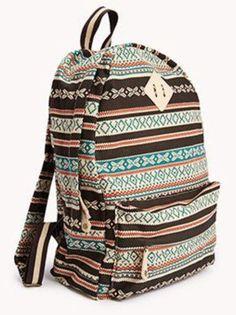 Tribal art backpack ❤️ UGHHHH !!