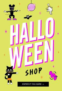 Discover Urban Outfitters collection of unique Halloween costumes, makeup, accessories, decorations + more. We've got everything for your spooky Halloween needs. Email Marketing Design, Email Design, Web Design, Logo Design, Cyber Monday, Email Layout, Tipsy Elves, Digital Web, Halloween Poster