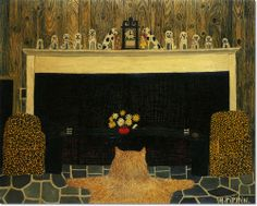 Horace Pippin - The Den Painting