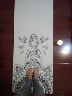 My #new #yogamat :)