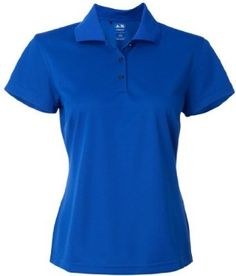 Adidas Ladies' ClimaLite Basic Polo Sport Shirt. A131 - Medium - Collegiate Royal adidas. $36.37