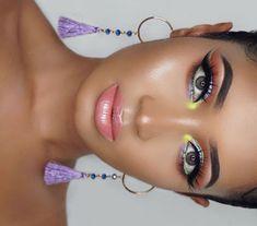_______________ EYES  @anastasiabeverlyhills @norvina Prism Eyeshadow Palette, @jeffreestarcosmetics @jeffreestar 'Venus Flytrap…