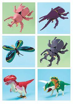 CASITA DE PAPEL: Dollhousepaper: Animales by Kidsnet