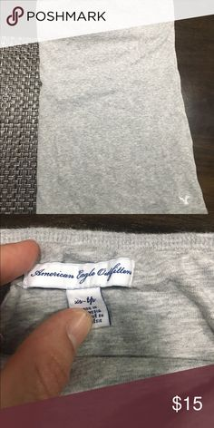 Grey tube top Cute grey tube top. EUC 🌸 American Eagle Outfitters Tops