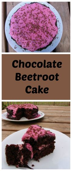 Noone will guess this vegan chocolate cake is dairy free and egg free as the beetroot adds such moisture as well as an amazing colour