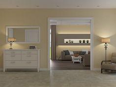 Двух этажный дом в Бабите. Эскизный проект и 3D визуализация