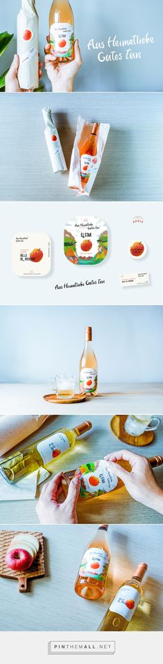 [Germany][Aus Heimatliebe Gutes tun]Apple Juice Tender on Behance... - a grouped images picture - Pin Them All
