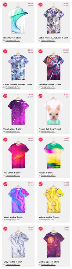 Sale!!! T-SHIRT 25% OFF!!! on @liveheroes Tshirt Sale! Ideas Moda A unisex cut full print custom t-shirt made of best quality materials. An excellent gift and a perfect outfit. A t-shirt like no other is within the reach of your fingertips, all you need to do is grab it! All products available here: https://liveheroes.com/en/brand/oksana-fineart #tshirt #shirt #apparel #Sale #fashion #woman #clothes  @photography_art_decor