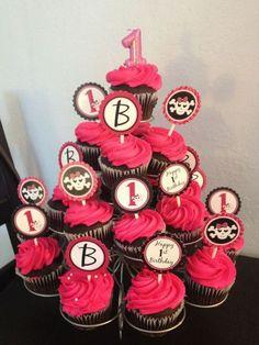 punk princess birthday theme   Punk Princess Skull & Crossbones / Birthday / Dessert Table: Chocolate ...