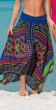 Sunflair 2014 Left 'n' Right Skirt Cover Up #Southbeachswimsuits