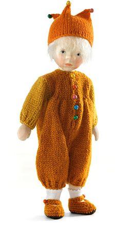 Boy In Orange Knit Suit 2011 DJ035 by Elisabeth Pongratz
