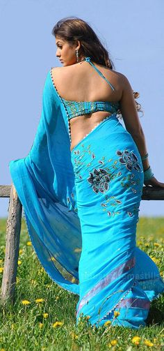 64 Best saree and back images in 2019 | Fashion, Fasion, Moda
