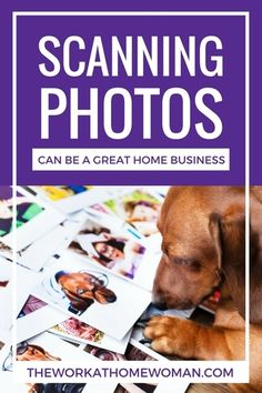 Want to make money by scanning photos? Here are some tips on getting started including the initial investment, income potential, and resources to help launch your home-based business.