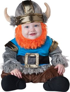 Little Viking: You don't have to come from Nordic lineage to enjoy this unbelievably cute Li'l Viking costume ($60). Just the beard alone is enough to sell us on its cuteness!