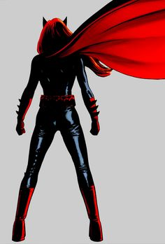 Maybe in this story, you are my hero. • selinrkyle: Kate Kane in Batwoman #01