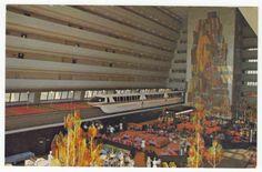 Walt Disney World, Florida - Grand Canyon Concourse, Contemporary Resort.